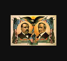 Artist Posters For president Grover Cleveland of New York For vice president Thos A Hendricks of Indiana SS Frizzell 0255 Unisex T-Shirt