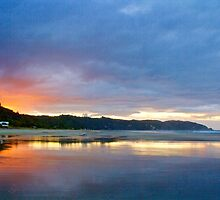 Ohope Sunset by Barbara  Brown