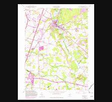 USGS TOPO Map New Jersey NJ Jamesburg 254491 1953 24000 Unisex T-Shirt