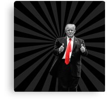 Donald Trump For President 2016 Thumbs Up Canvas Print