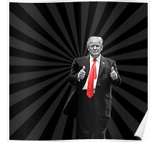 Donald Trump For President 2016 Thumbs Up Poster