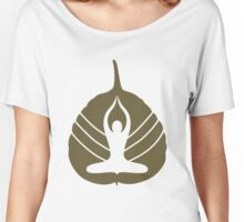Yoga Logo Women's Relaxed Fit T-Shirt