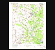 USGS TOPO Map New Jersey NJ Elmer 254354 1953 24000 Unisex T-Shirt