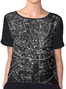 Galaxies Chiffon Top