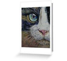 Snowshoe Cat Greeting Card