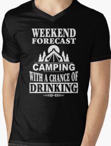 Weekend Forecast Mens V-Neck T-Shirt