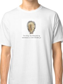 Awesome Echidna Classic T-Shirt