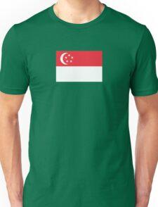 I Love Singapore - Country Code SG - T-Shirt & Sticker Unisex T-Shirt
