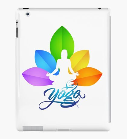 love yoga iPad Case/Skin