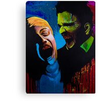 The Clash - Zombie Painting Canvas Print