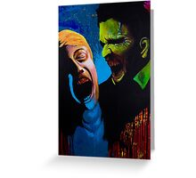 The Clash - Zombie Painting Greeting Card