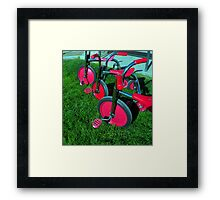 """TRIKES X THREE!"" Framed Print"