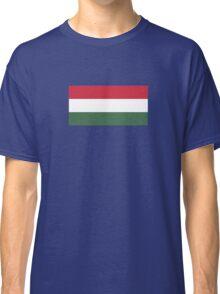 I Love  Hungary - Country Code HU T-Shirt & Sticker Classic T-Shirt