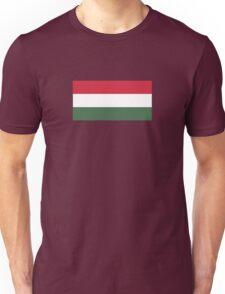 I Love  Hungary - Country Code HU T-Shirt & Sticker Unisex T-Shirt