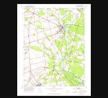 USGS TOPO Map New Jersey NJ Elmer 254355 1953 24000 Unisex T-Shirt