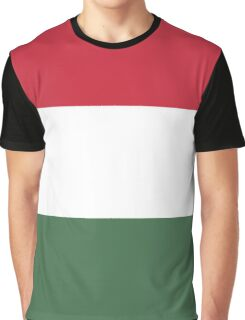 I Love  Hungary - Country Code HU T-Shirt & Sticker Graphic T-Shirt