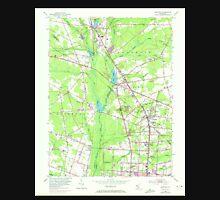 USGS TOPO Map New Jersey NJ Newfield 254626 1953 24000 Unisex T-Shirt