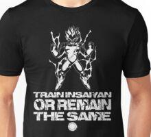 Train Insaiyan - White Unisex T-Shirt