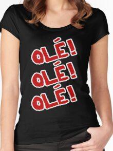 Sami Zayn - Ole! Ole! Ole! Women's Fitted Scoop T-Shirt