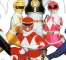 Power Rangers sticker Sticker
