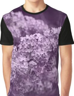 Pretty Lilac in the Spring Graphic T-Shirt