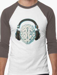 Mind Music Connection Men's Baseball ¾ T-Shirt