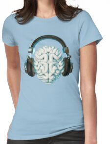 Mind Music Connection Womens Fitted T-Shirt