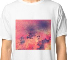 Stardust in pink sky Classic T-Shirt