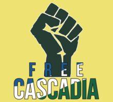 Free Cascadia! Kids Tee
