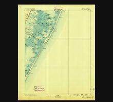 USGS TOPO Map New Jersey NJ Long Beach 255255 1888 62500 Unisex T-Shirt