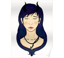 Starry Devil Poster