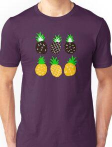 Black pineapple Unisex T-Shirt