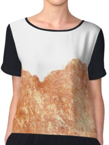 Rose Gold Rush #redbubble #lifestyle Chiffon Top