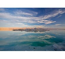 Dead sea, Israel at dusk Photographic Print