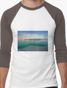 Dead sea, Israel at dusk Men's Baseball ¾ T-Shirt