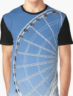 Seattle Great Wheel Graphic T-Shirt