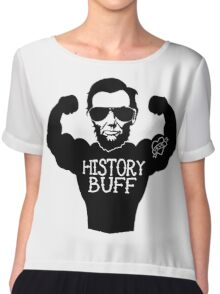 Funny History Buff Chiffon Top