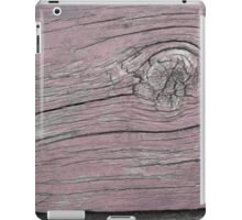Wood Knot in Pale Pink - Horizontal iPad Case/Skin