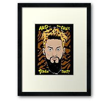 WWE Enzo Amore and You can't teach that Framed Print