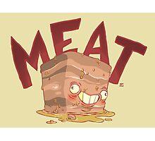 Meat block Photographic Print