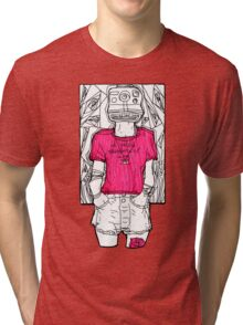 i selfie therefore Tri-blend T-Shirt