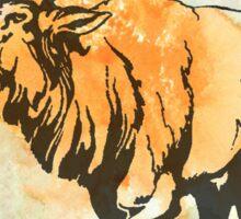 Bull Elk in the Roar Sticker