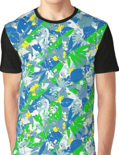 Brazil Splash Pepe Psyche Graphic T-Shirt