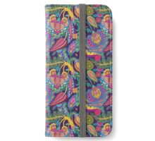 Oriental pattern iPhone Wallet/Case/Skin