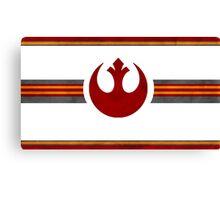 Rebel Alliance Banner Canvas Print