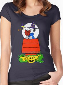 Snoopy Magic Potions Women's Fitted Scoop T-Shirt