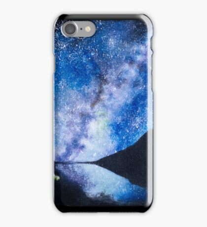 Camping under the Milky Way iPhone Case/Skin