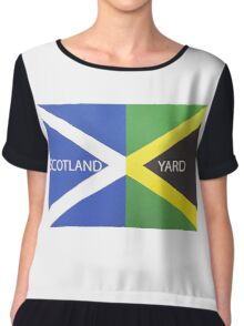 Scotland Yard  Chiffon Top