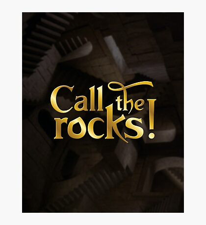 Call the rocks! Photographic Print