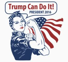 Trump Can do it One Piece - Short Sleeve